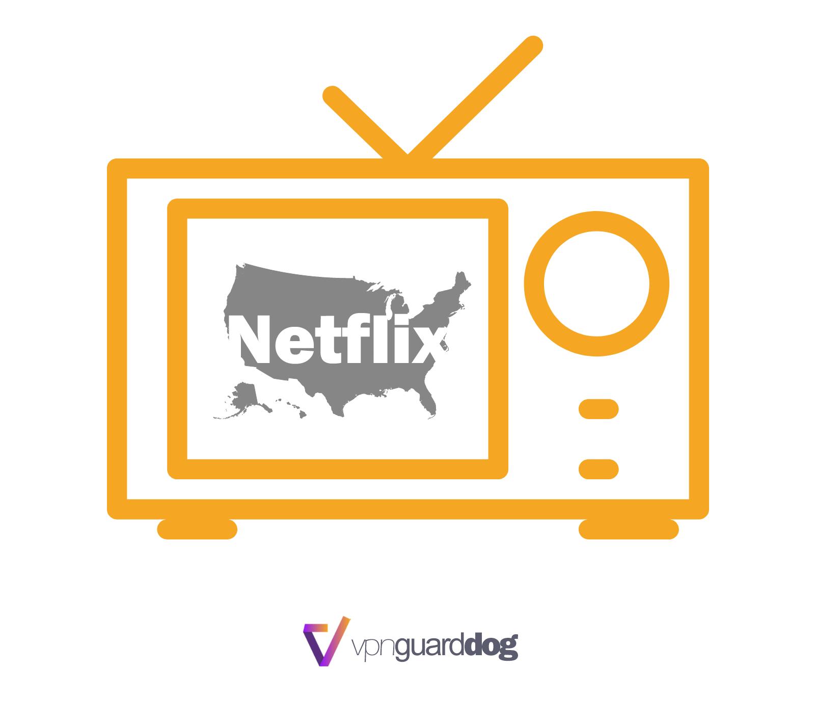 用VPN看美國的Netflix的方法